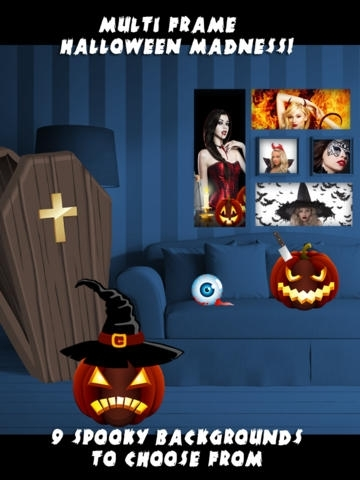 A Scary Camera - Spooky Halloween Pics & Haunted Photo Collage Free