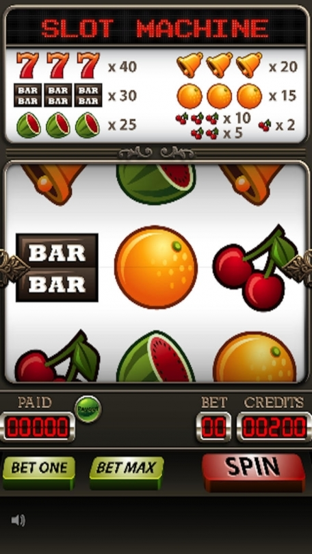 A Simple Slot Gambling Machine - by Best Free Addictive Games