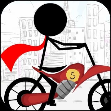 A Stickman Bike Race - Xtreme Racing Edition