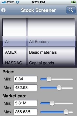 A+ Stock Screener