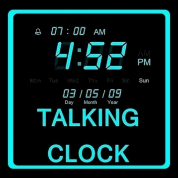 A+ Talking Alarm Clock
