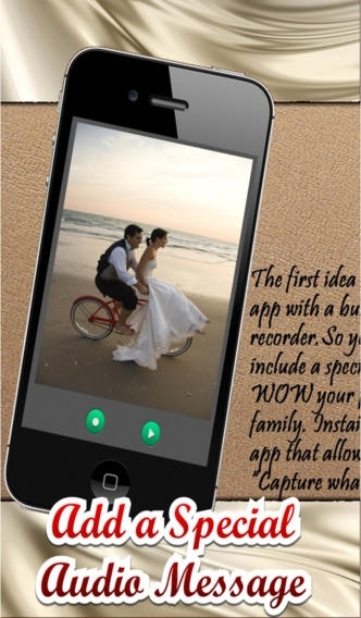 A Wedding Pic Booth - Photo Editor with Audio
