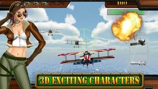 A World War I Flying Squadron - Airplane Shooting & Fighting Games