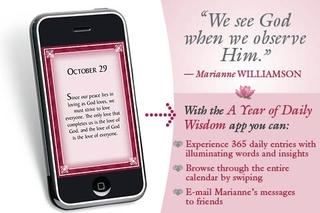 A Year of Daily Wisdom Perpetual Calendar - Marianne Williamson