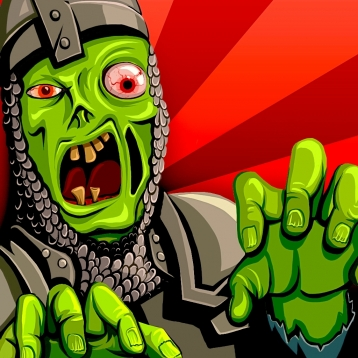 A Zombie Invasion Nightmare: Knights of the Dead PRO