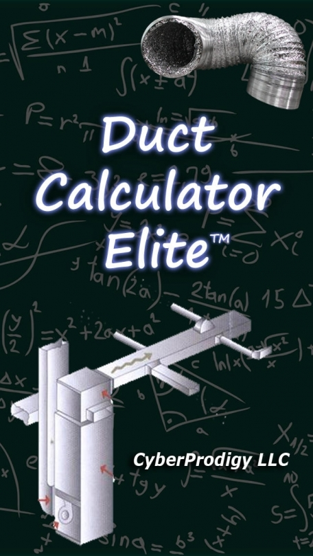 Duct Calculator Elite - Industry leading duct size calculator based on ASHRAE standards - Advanced Ductulator
