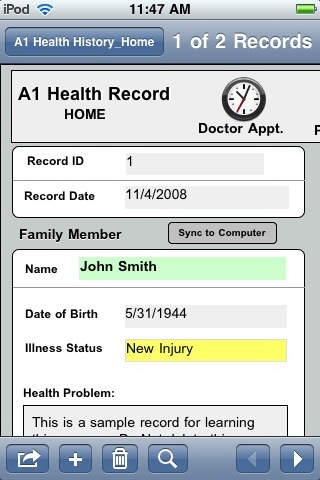 A1 Health History 1.02