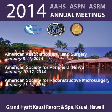 AAHS ASRM ASPN 2014