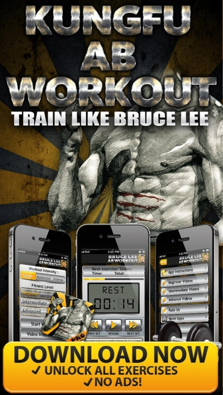 Ab Workout Bruce Lee Style PRO - 6 Pack & Core Exercises