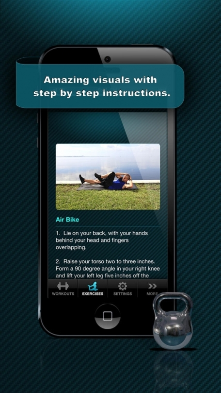 Ab Workout Free - Abdominal Crunch Exercise Workouts