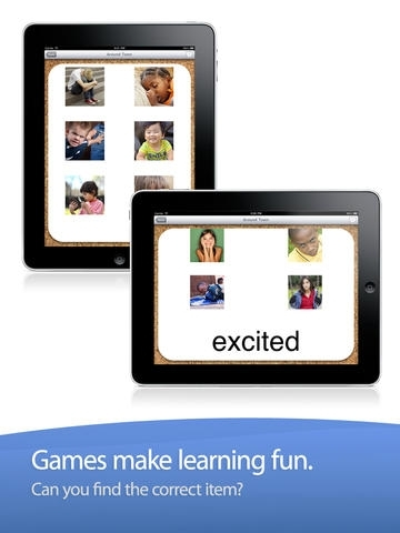 ABA Flash Cards & Games - Emotions
