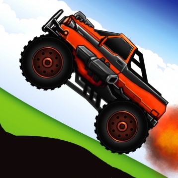 Abaiser Monster Trucks Vs Zombies: Free Words War Game