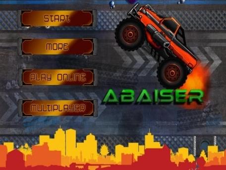 Abaiser Monster Trucks Vs Zombies: Free Words War Game