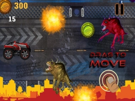 Abaiser Monster Trucks Vs Zombies: Words War Racing Game