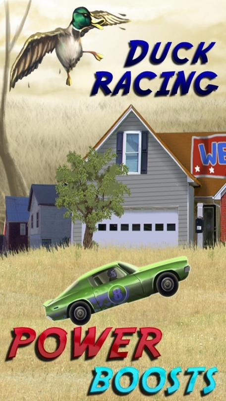 Abbeville Redneck Duck Chase - Turbo Car Racing Game