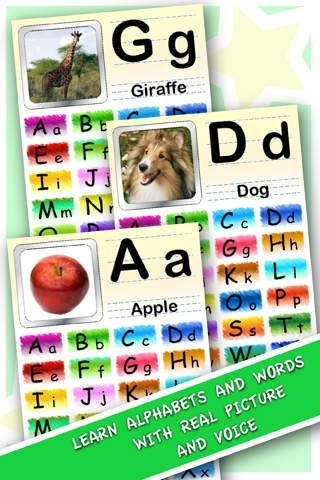 ABC 123 WordApp for Little Kids
