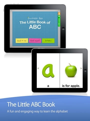 ABC Alphabet Letters by The Little Book