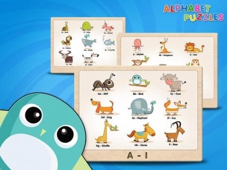 ABC Alphabet Puzzles for Kids