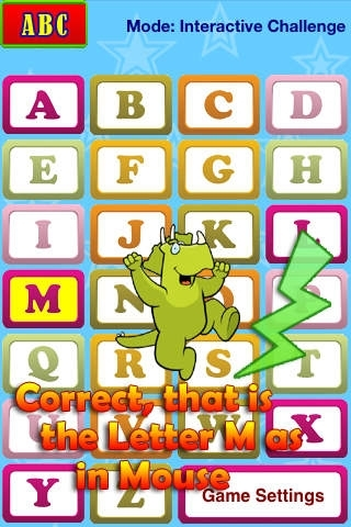 ABC Audio Talking Baby Learning Game Free Lite