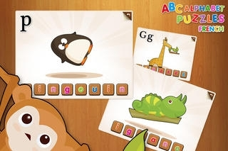 ABC French Alphabet Puzzles for Kids