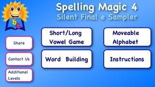 ABC SPELLING MAGIC 4 Silent Final e
