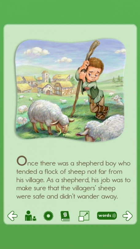 ABCmouse.com The Boy Who Cried Wolf