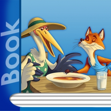 ABCmouse.com The Fox and the Stork