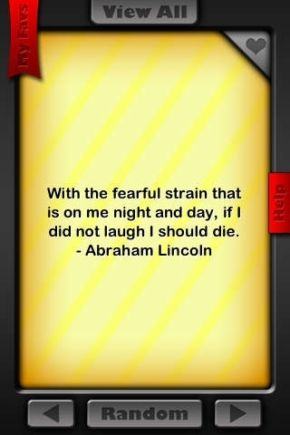 Abraham Lincoln Quotes!