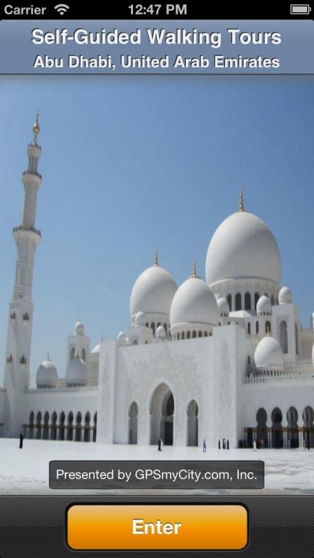 Abu Dhabi Map and Walks