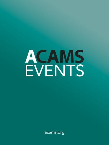 ACAMS Events