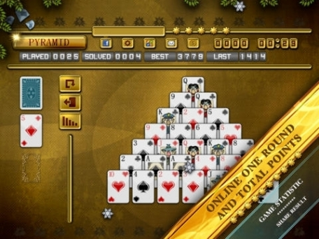 pyramid solitaire free games ws
