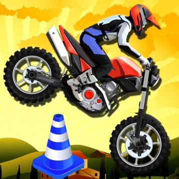 Acclive Motorbike Jumps - GTI Motorcycle Turbo Moto Game