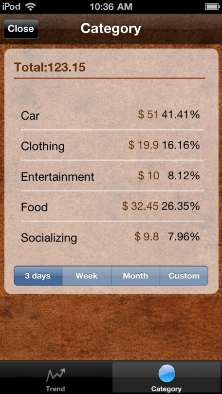 Account Book for iPhone and iPad