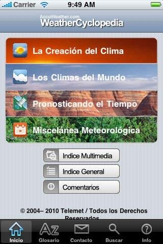 AccuWeather.com® WeatherCyclopedia™  - La Enciclopedia Más Extensa Bajo el Sol