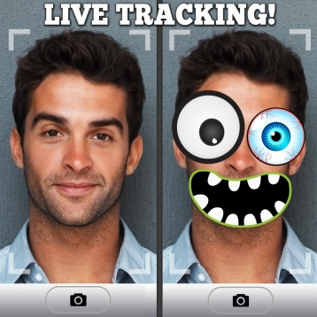 Ace FreakyFace: The Cartoon Mask & Costume Photo Booth Camera