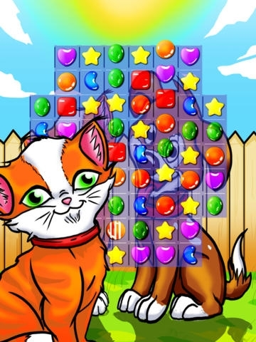 Ace Pet Lolly Explosion - Cat and Dog Match 3