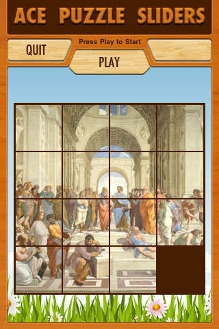 Ace Puzzle Sliders - Masterpieces Free Lite