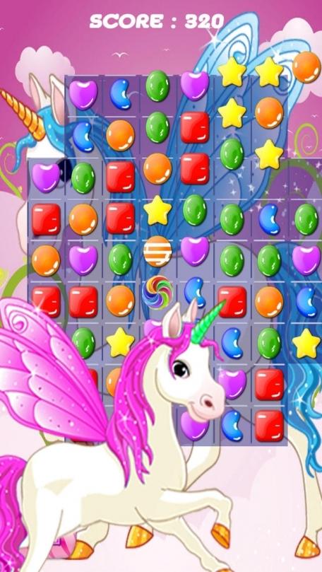 Ace Unicorn Candy Match