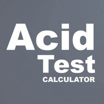 Acid Test Ratio Calculator