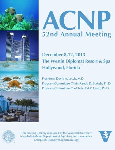 ACNP 2013