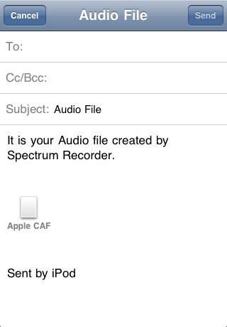 Acoustics Spectrum Analyzer