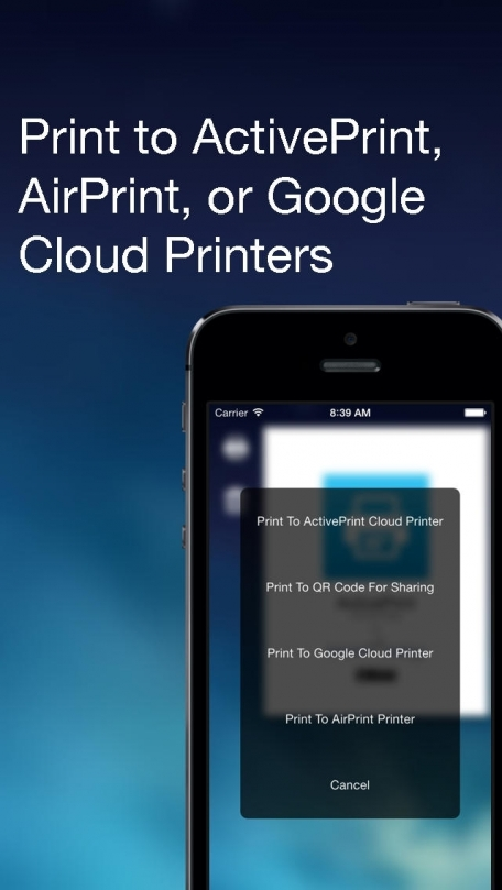 ActivePrint (Print or Share Photos, Documents, and More)