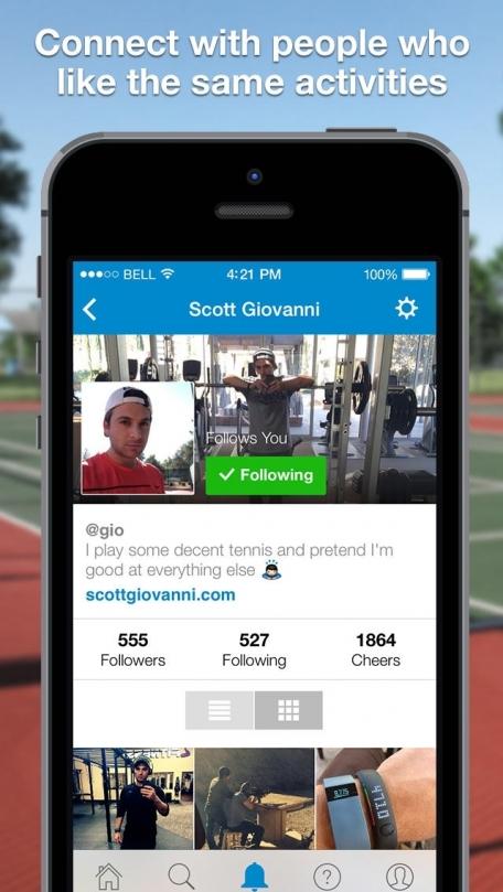 ActiveSide - Social Fitness Inspiration & Motivation, Sports & Activity Training Community