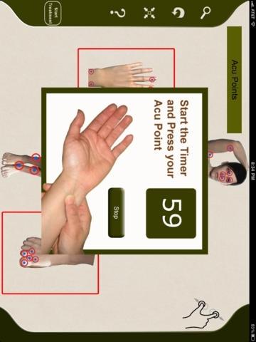 AcuPressure: Visually Interactive Self Treatment