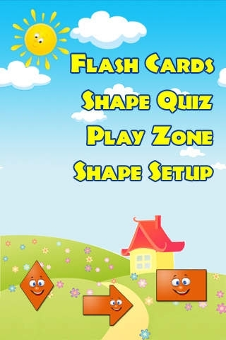 Acute Shapes Flashcards Kids Games