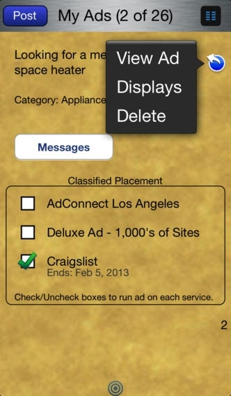 AdConnect Classifieds for Craigslist