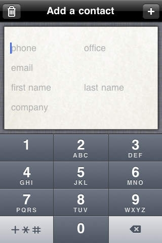 Add a Contact