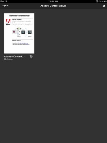 Adobe® Content Viewer