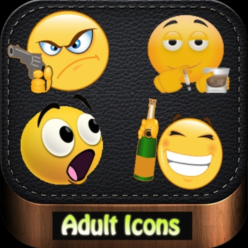 Adult Party Icons & Animated Emoji
