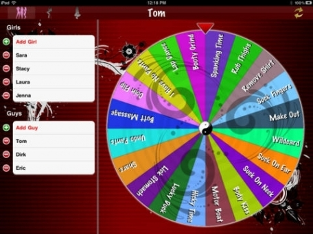 Adult Wheel of Foreplay Free